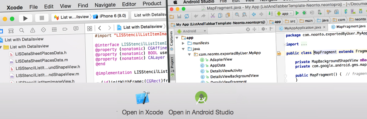 Neonto Studio - Create native mobile apps for Android and iOS  React