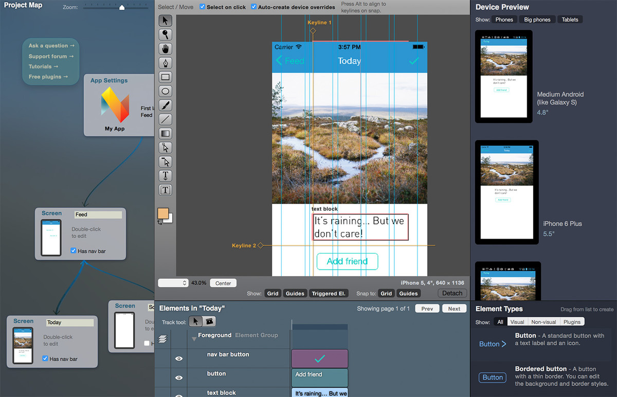 Neonto Studio - Create native mobile apps for Android and